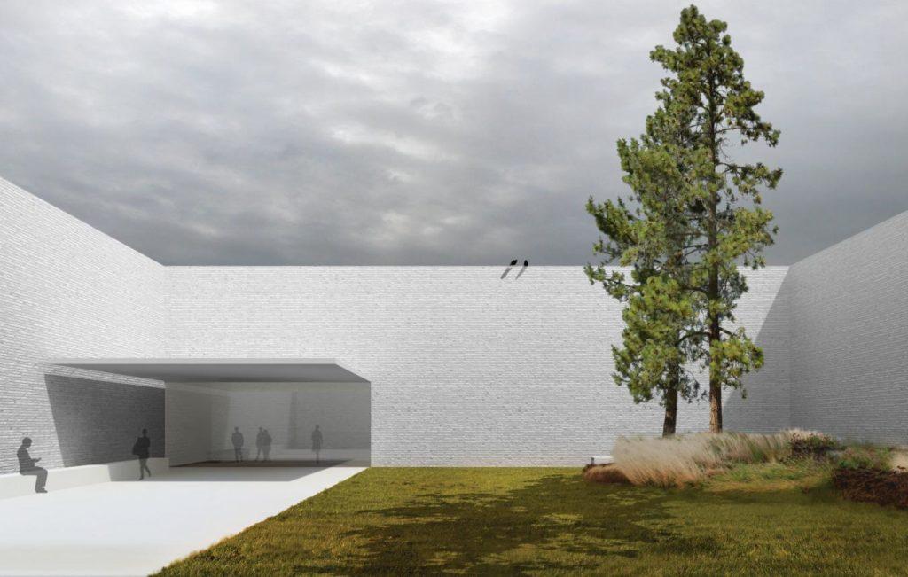 Ontwerp Open Oproep voor Crematorium Siesegem in Aalst door KAAN Architecten