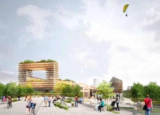 Plannen Olympisch Dorp 2024 Parijs door Dominique Perrault gepresenteerd