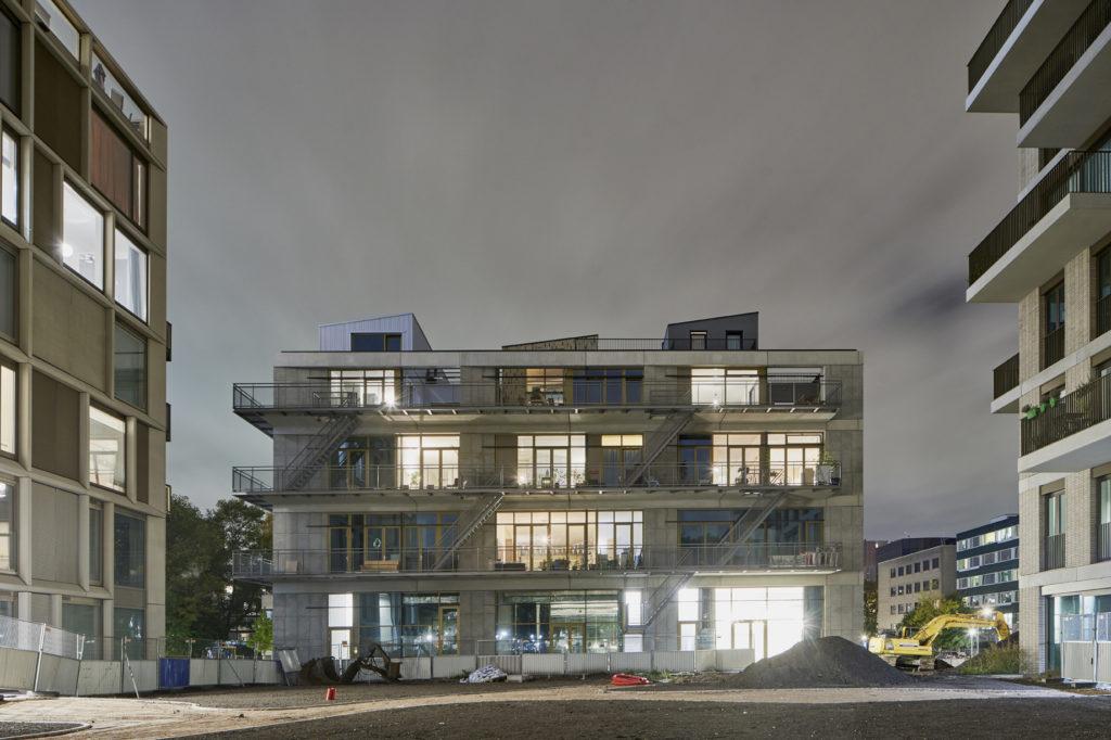 Pondok CRUQ architectuur en stedenbouw Urban Echoes Monika Pierothl Vereniging Pondok aan de Westlandgracht. beeld Jordy Huisman