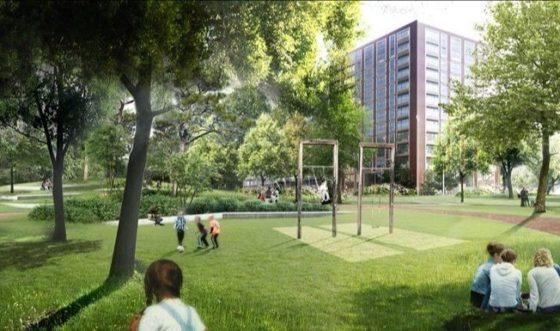 Start herinrichting Schilperoortpark Leiden
