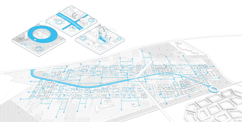 <p>Brainport Smart District in Helmond door UNStudio enFelixx, beeld UNStudio en BSD Landscape Vision</p>