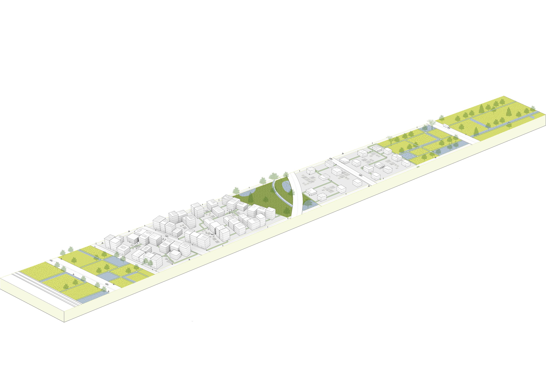 <p>Brainport Smart District in Helmond door UNStudio enFelixx, beeld UNStudio</p>