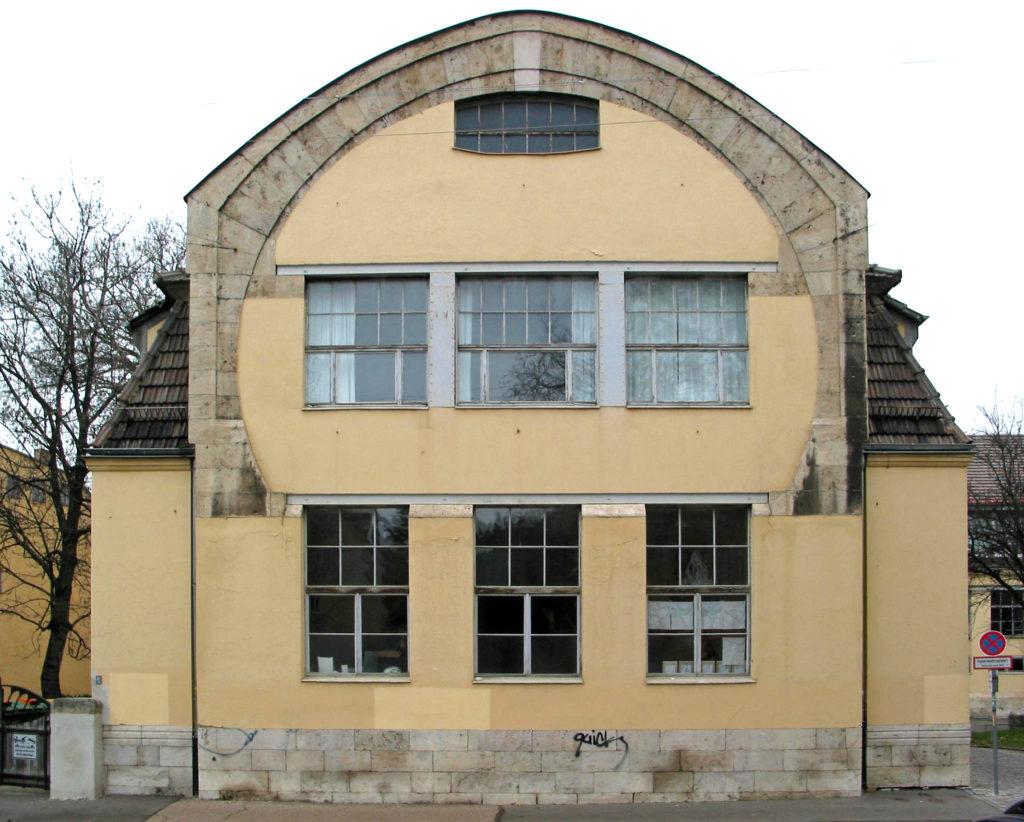 Kunstgewerbeschule in Weimar door Henry Van de Velde