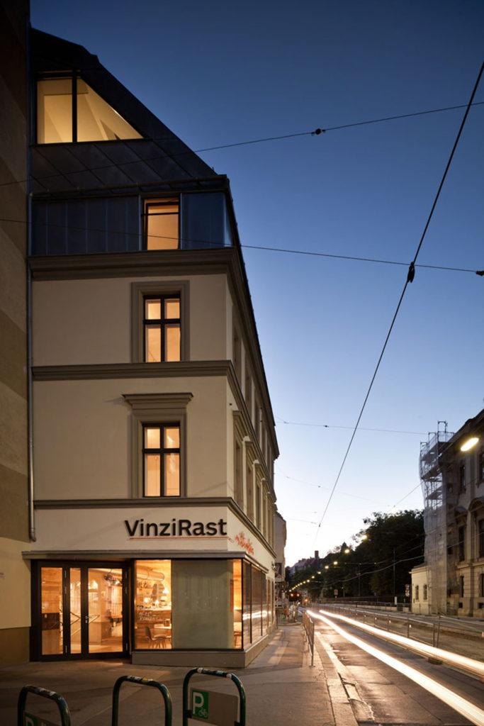 VinziRast-mittendrin in Wenen door gaupenraub+/-, beeld Kurt Kuball