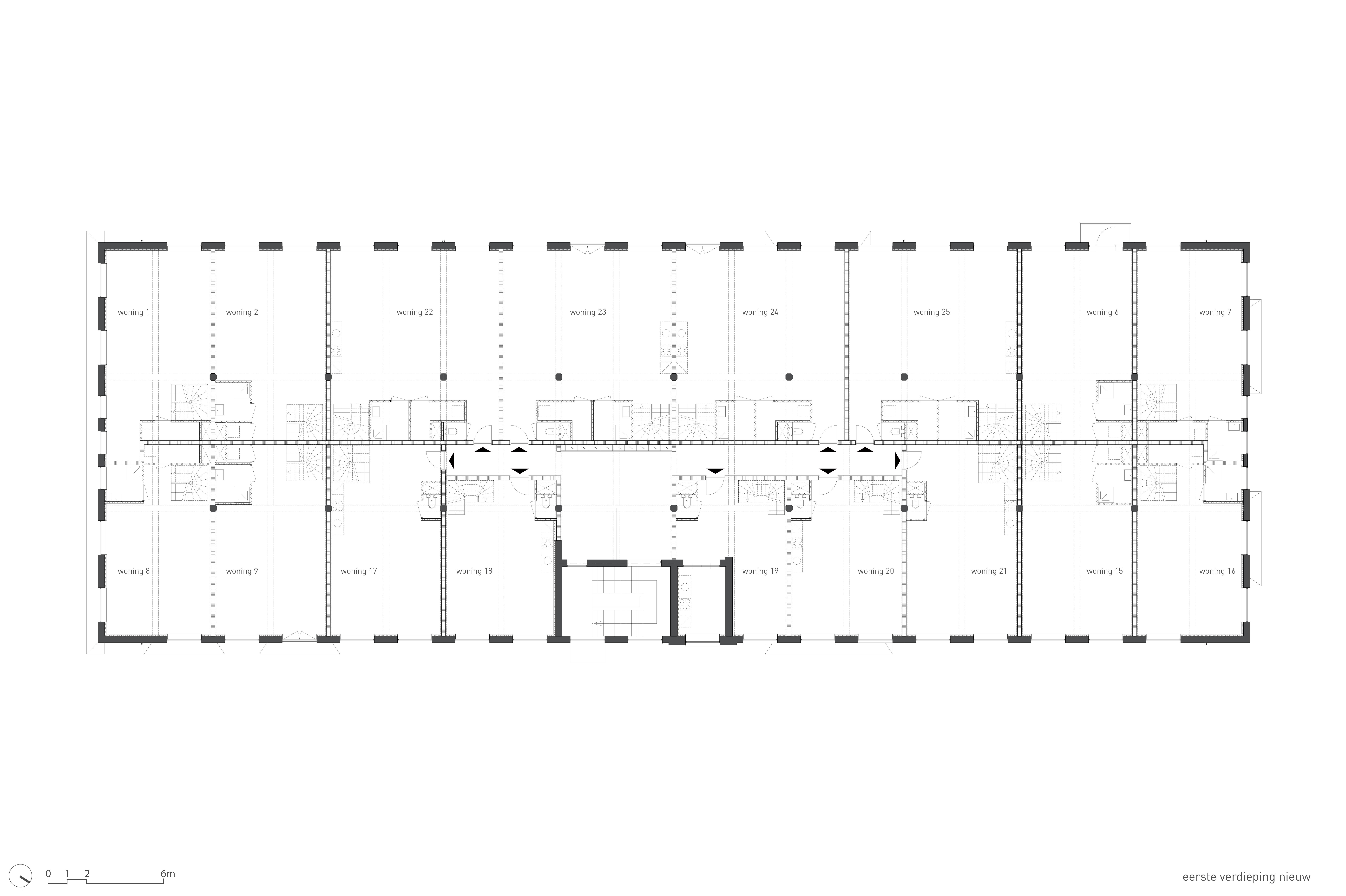<p>Plattegrond 1e verdieping nieuw</p>