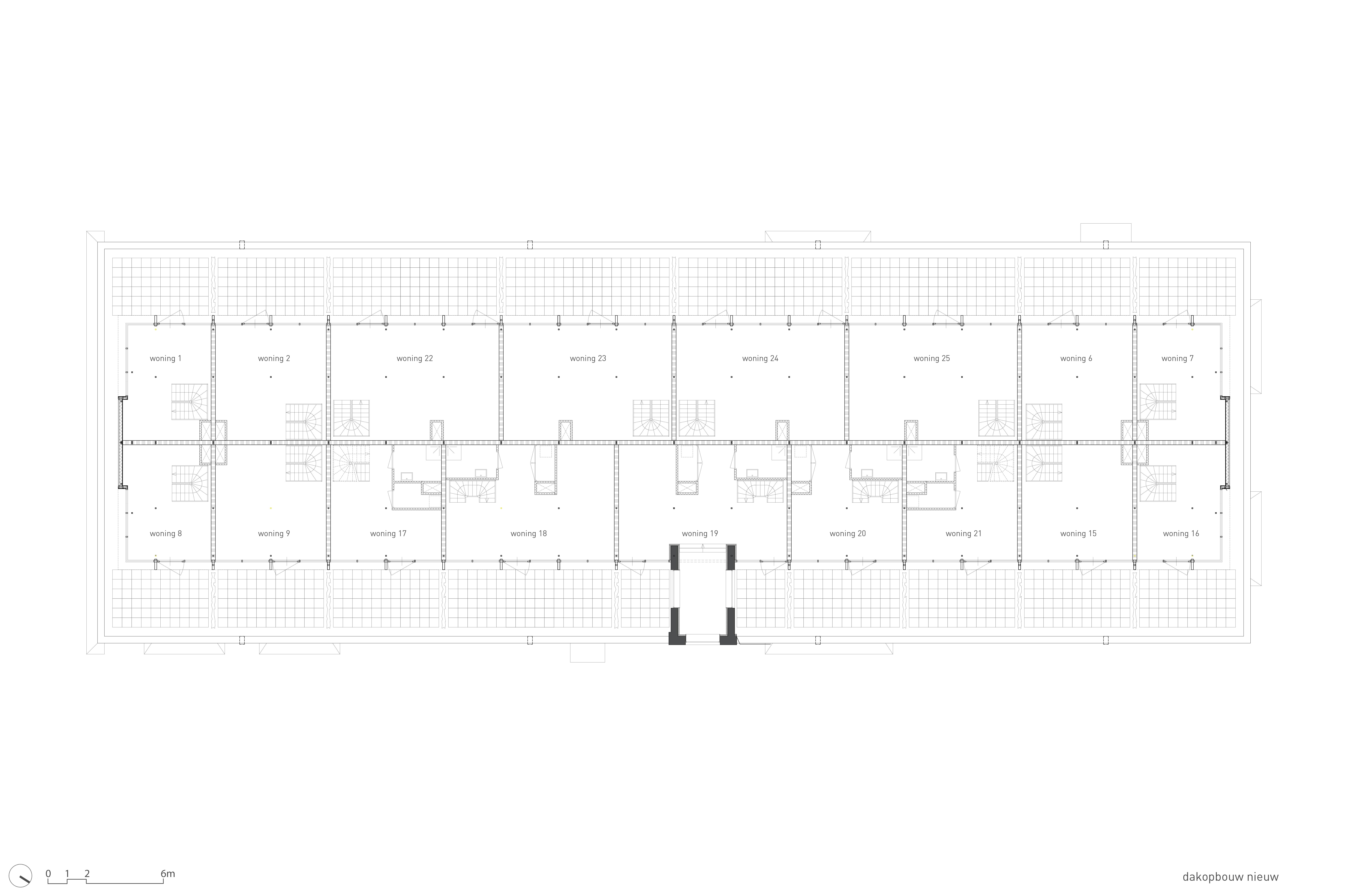 <p>Plattegronden dakopbouw</p>
