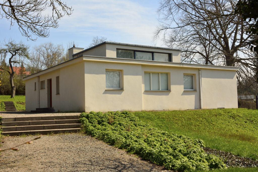 Haus am Horn in Weimar door Adolf Meyer en Georg Muche, beeld Shutterstock