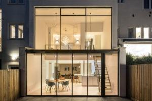 Maximaal zon en licht voor Amsterdams pand – BNLA architecten