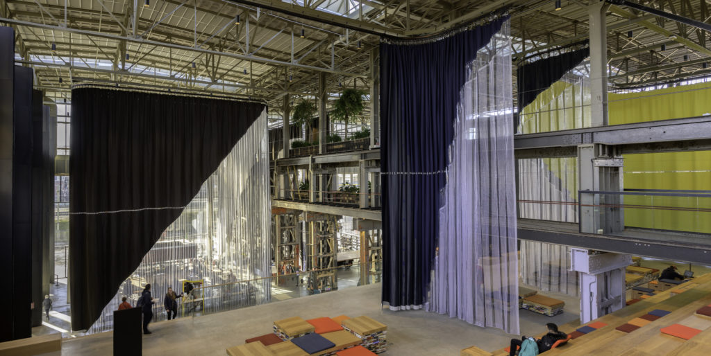 LocHal Tilburg - Inside Outside. beeld Frans Parthesius