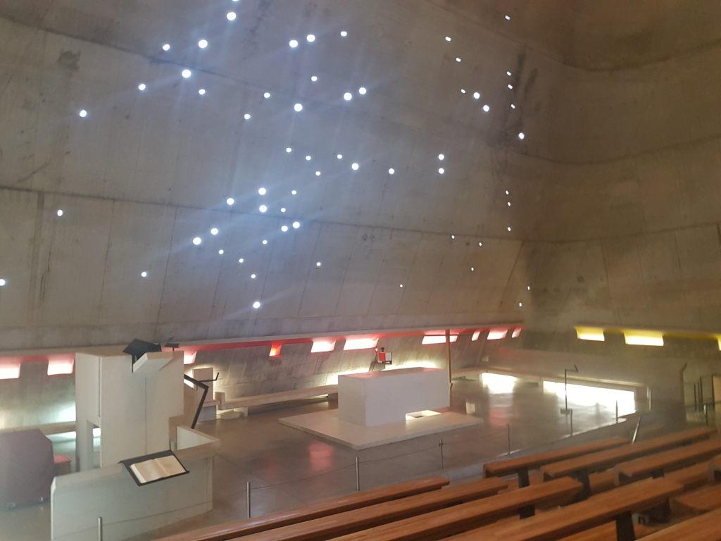 Kerk van Saint Pierre in Firminy door Le Corbusier, beeld Misak Terzibasiyan