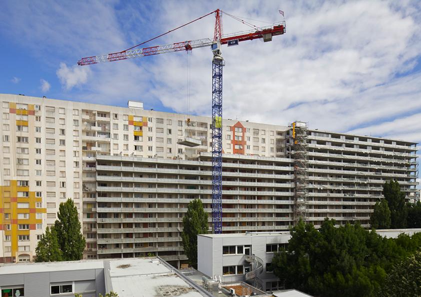 Transformatie van 530 woningen in Grand Parc Bordeaux door Lacaton & Vassal architectes, Frédéric Druot Architecture en Christophe Hutin Architecture wint EU Mies Award 2019, beeld Philippe Ruault