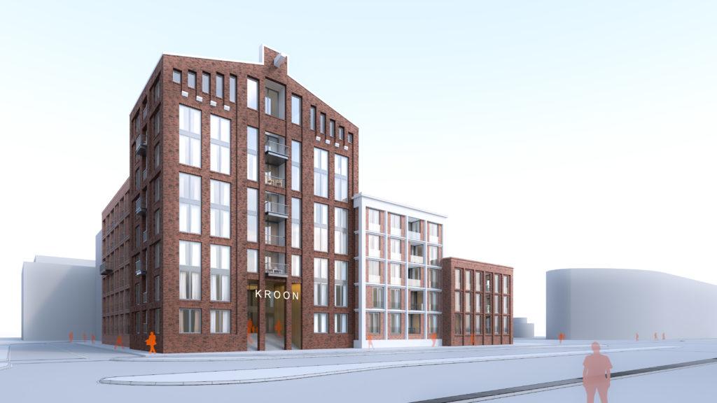 De-Kroon-Zaanstad-FKG Architecten aan de zaan