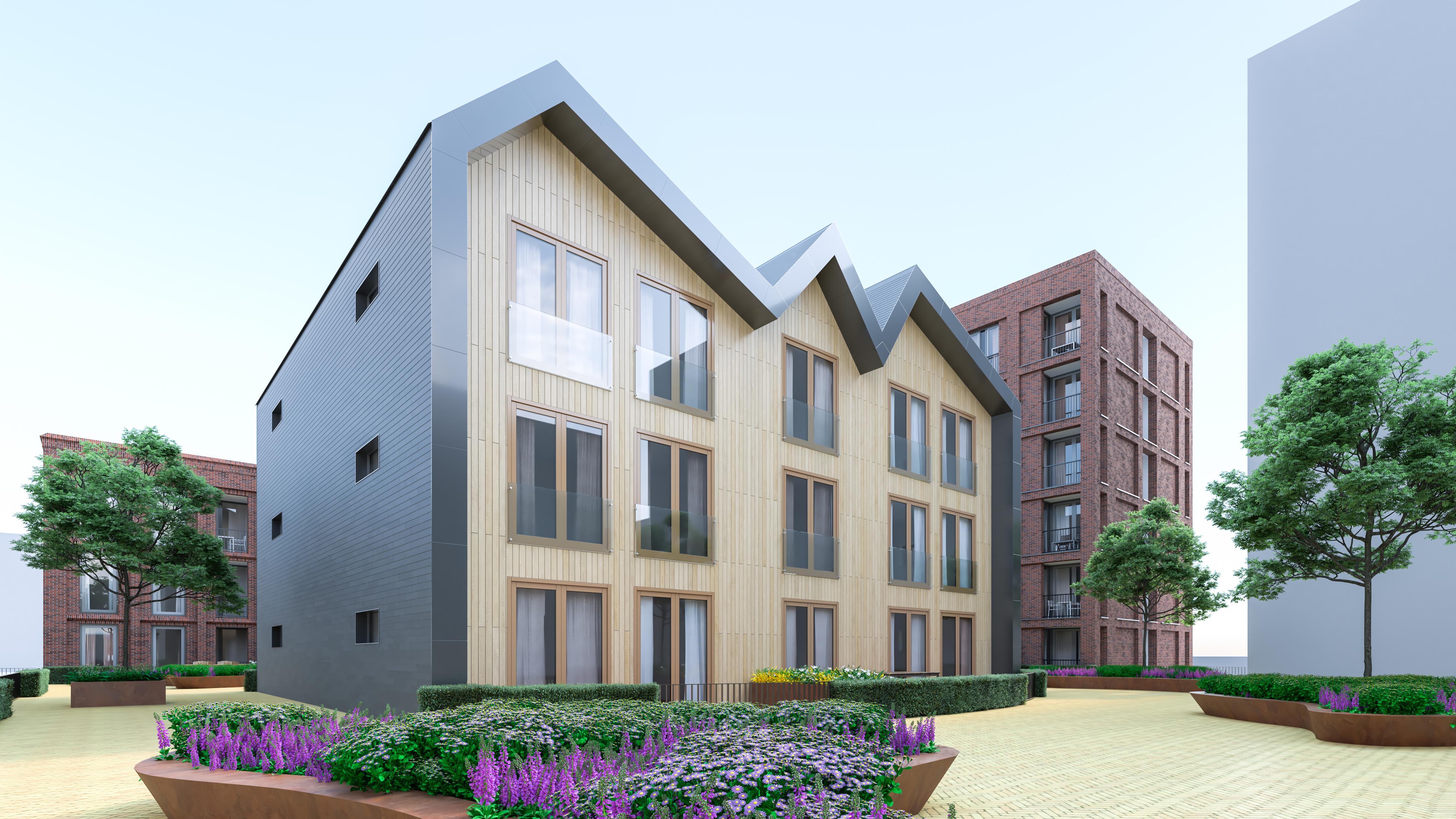 <p>De Loods Zaanstad door FKG Architecten aan de zaan</p>