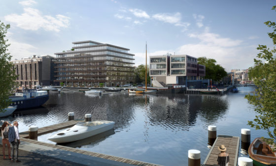 Start renovatie De Walvis in Amsterdam