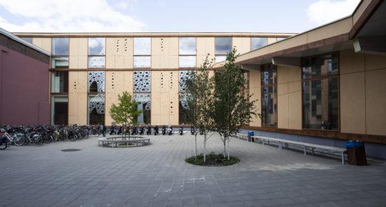 Gevelbekleding nieuwbouw onderstreept duurzame karakter Rudolf Steiner College