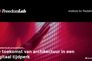 Blog – Architectuur in een digitaal tijdperk