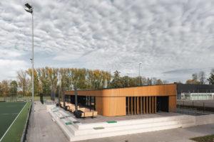 ARC19: Nieuwbouw clubhuis HC IJsseloever – EVA architecten ism AIM