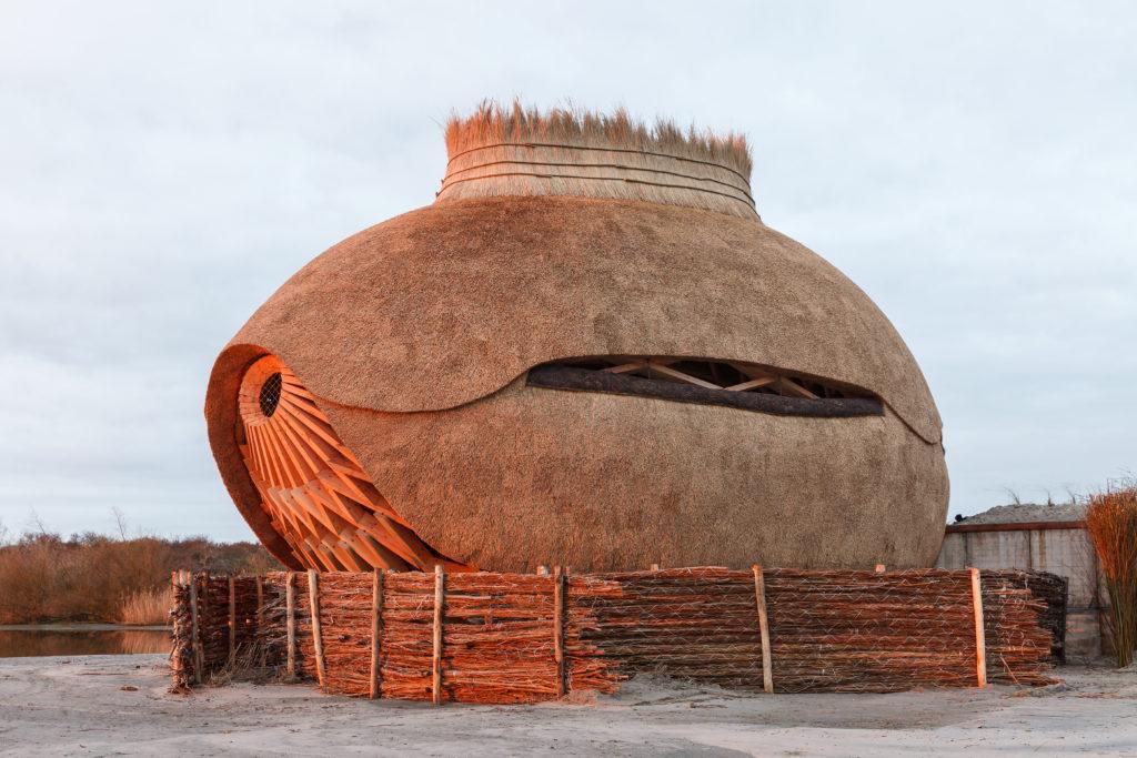 Vogelobservatorium TIJ door RAU. Beeld Katja Effting