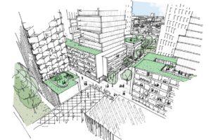Stationsgebied Den Haag Laan van NOi wordt woon-werkgebied