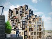Start bouw Grotiustorens in centrum Den Haag