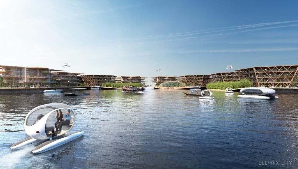 Oceanix City Beeld BIG-Bjarke Ingels Group