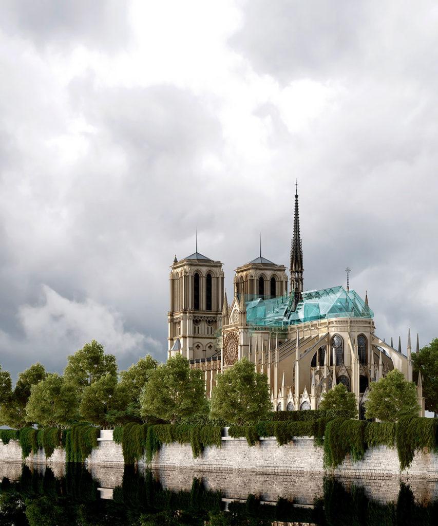Russisch voorstel opbouw Notre Dame