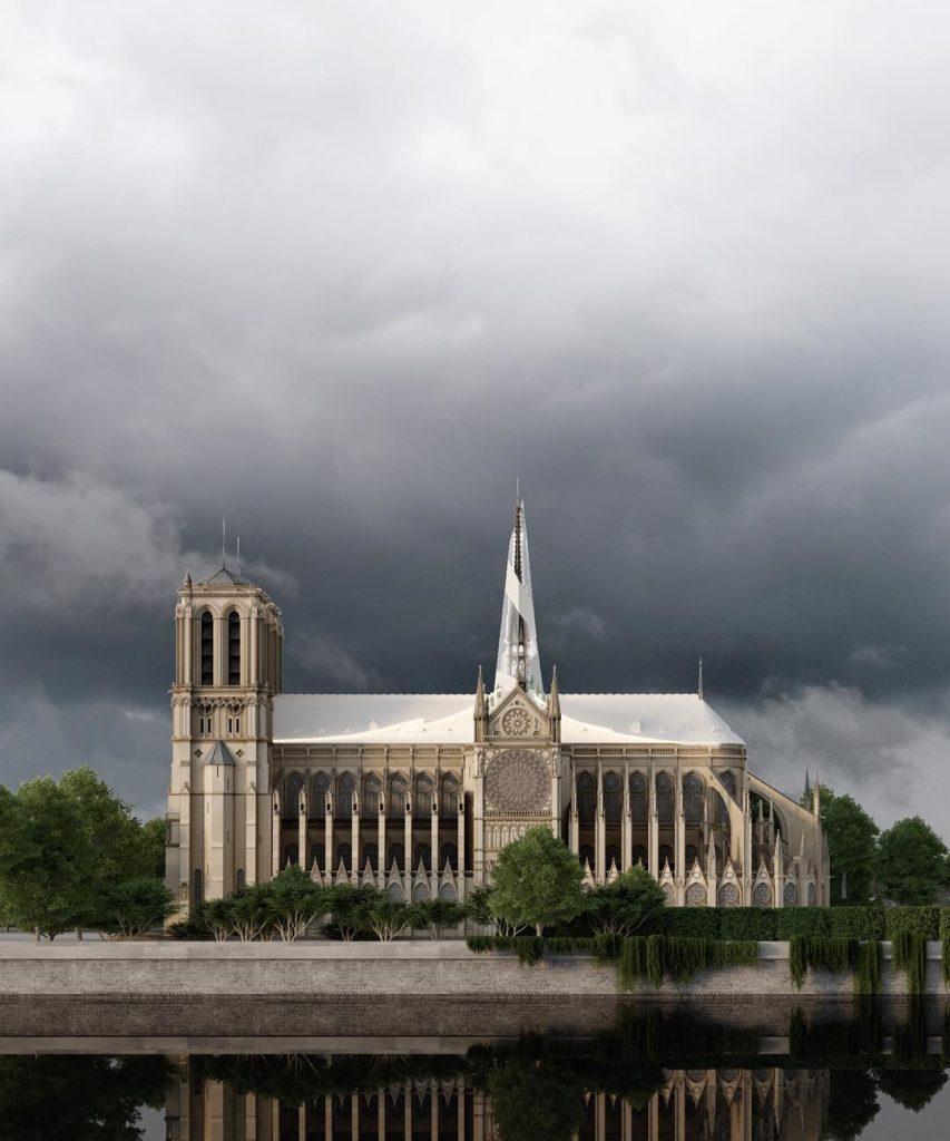 Russisch voorstel voor opbouw Notre Dame