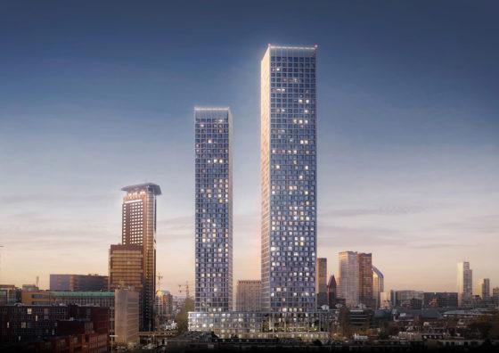 Mecanoo ontwerpt woontorens The Grace voor Den Haag