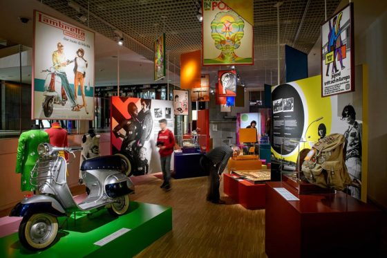Tinker imagineers ontwerpt tentoonstelling 'Restless Youth: Growing up in Europe, 1945 to now'