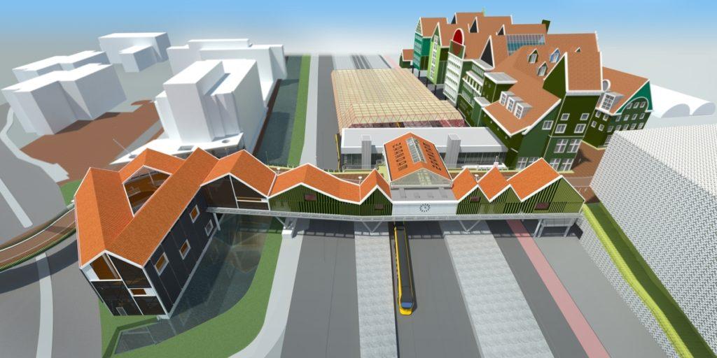 Spooroverbouwing Stationsgebied Zaanstad door Nunc Architecten