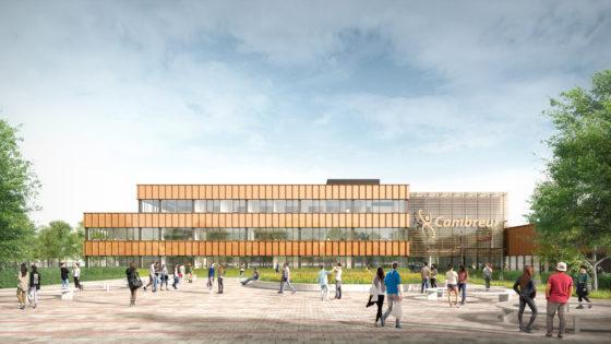 cepezed ontwerpt nieuwbouw Cambreur College Dongen