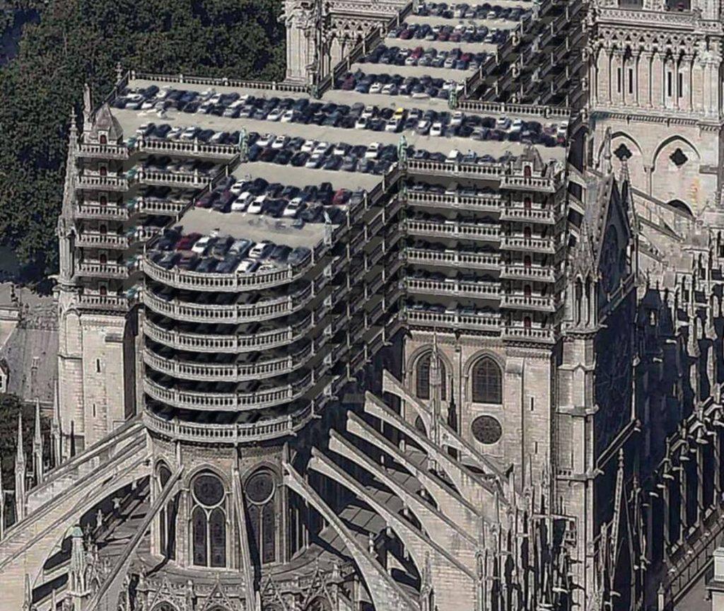 Car Park Notre Dame