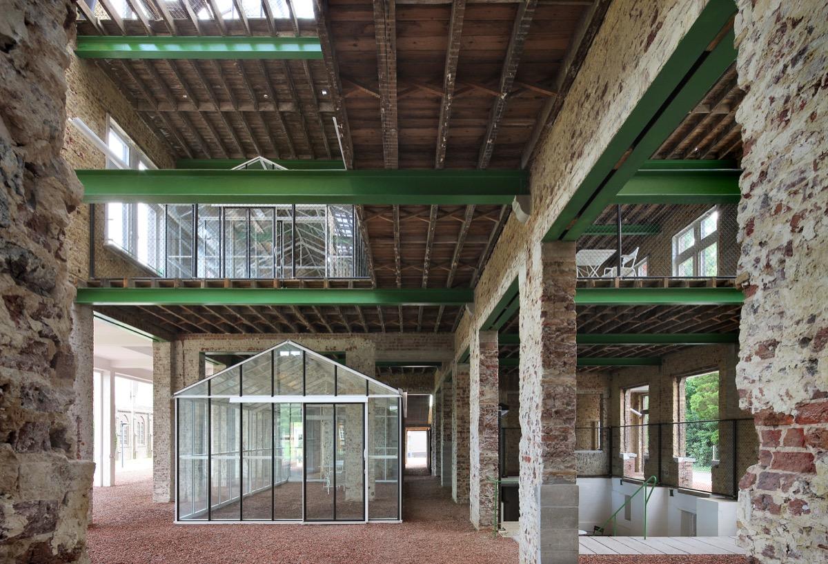 PC CARITAS in Melle (BE) door architecten de vylder vinck taillieu, beeld Filip Dujardin