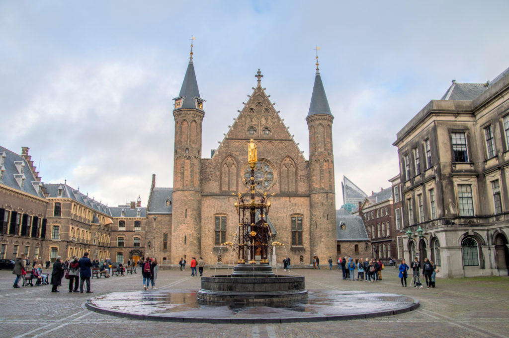 Binnenhof Den Haag, beeld Shutterstock