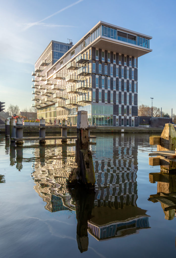Appartementengebouw De Binck. Beeld Jimmy Thepass, Aveq Creatieve Producties