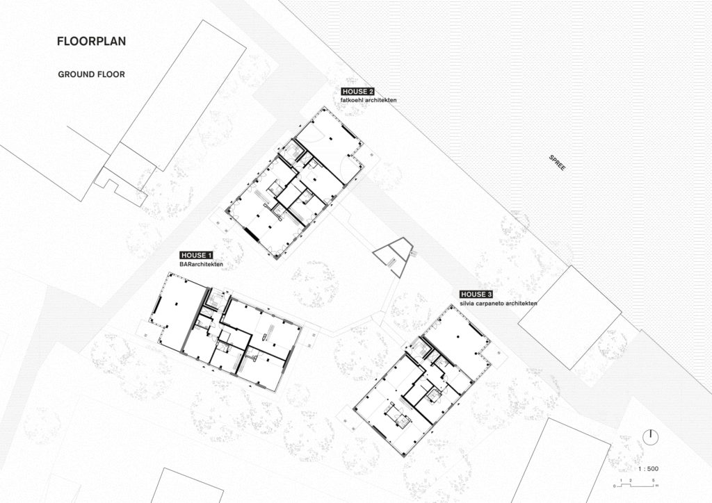 Spreefeld in Berlijn door Carpaneto Architekten, Fatkoehl Architekten en BARarchitekten