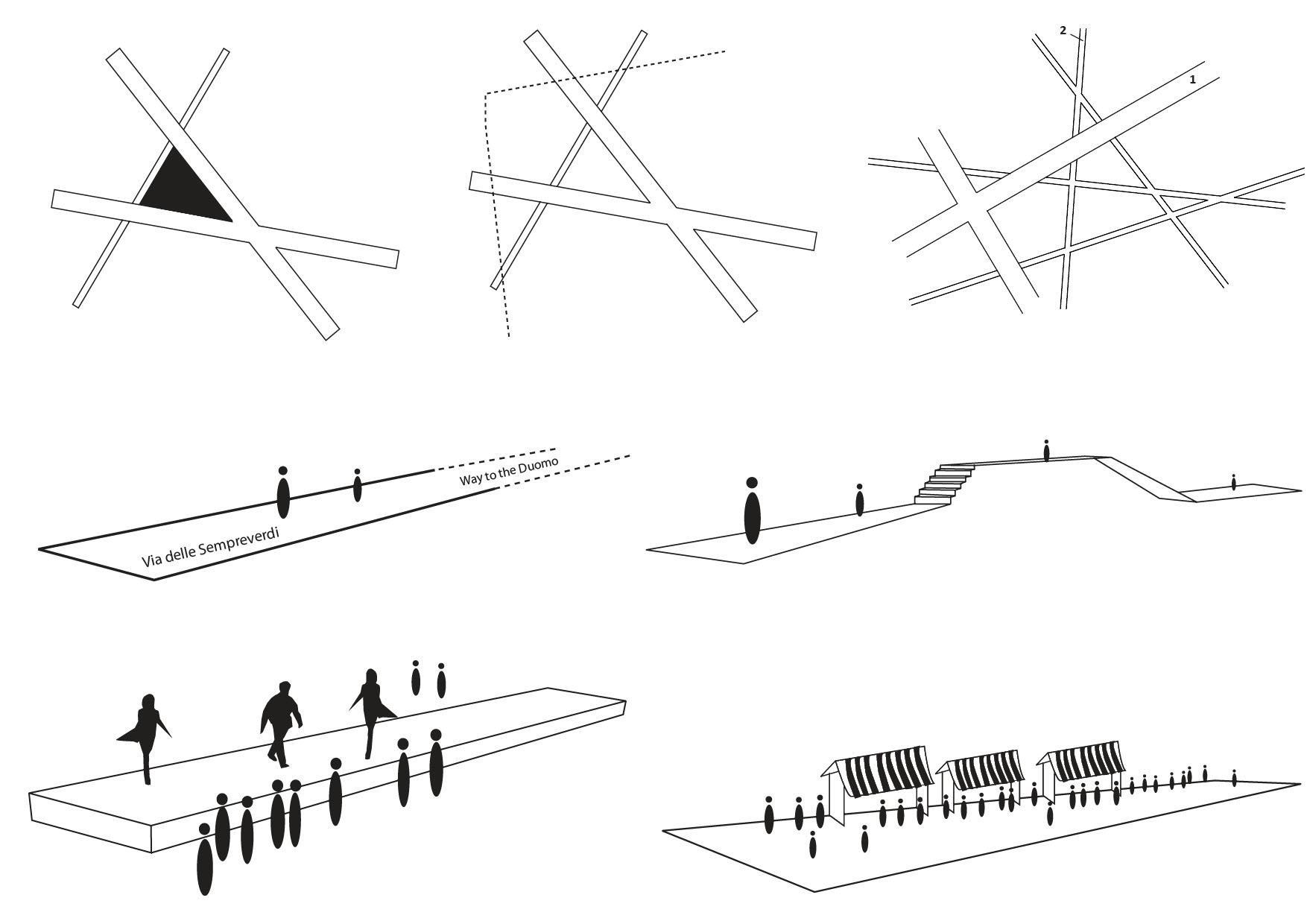 <p>Om het park verbindend te maken ontwierp het team van Inside Outside een stelsel van brede en smalle paden</p>