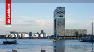 Monografie Architectuur over 'Wonen in hoge dichtheid'