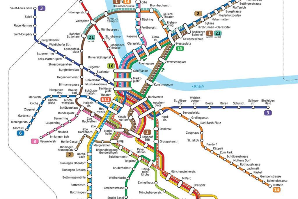Openbaar vervoer Basel