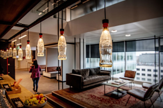 Hoofdkantoor Coca-Cola Rotterdam biedt prettige werkomgeving