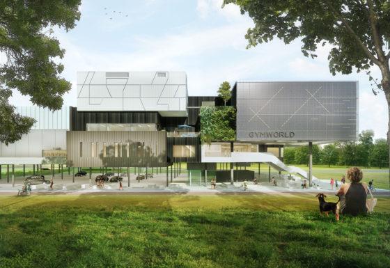 Zoetermeer krijgt gymnastiek-accommodatie ontworpen door Venhoeven CS