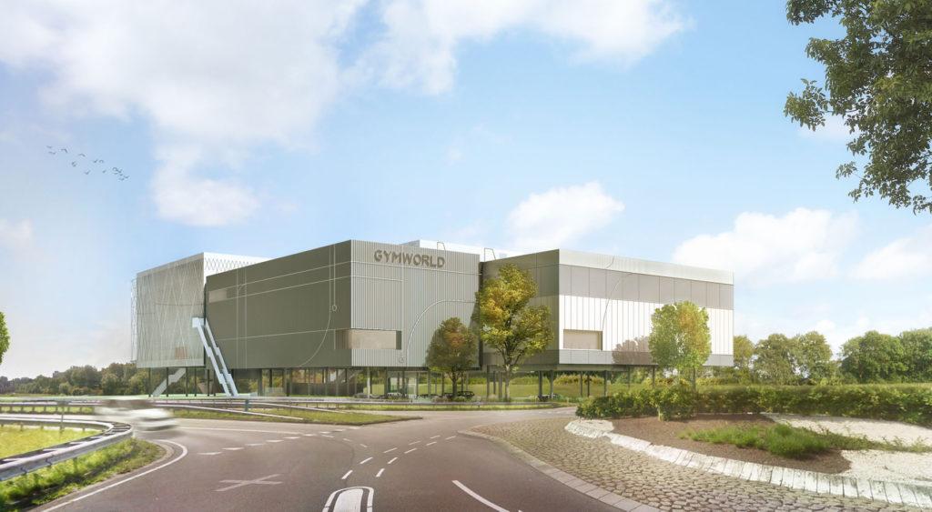 Gymworld Zoetermeer door Venhoeven CS. Beeld VingtSix
