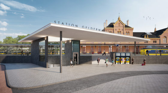 Hans van Heeswijk architecten wint selectie Station Geldermalsen