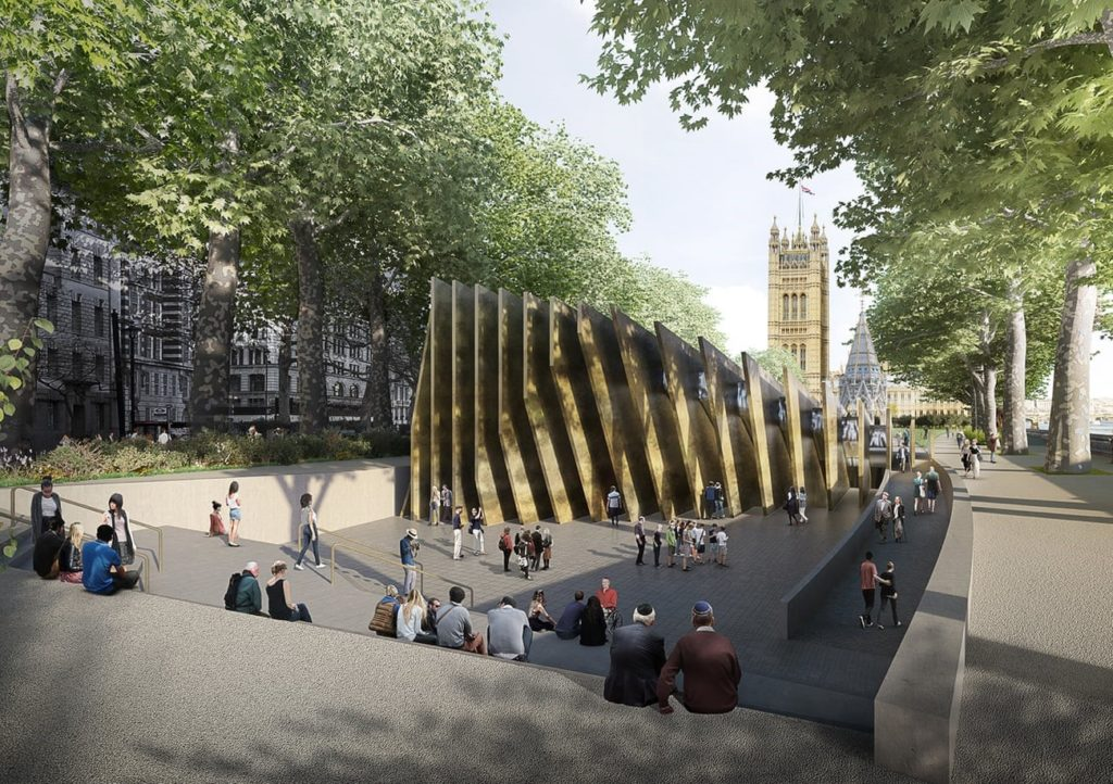 Holocaust memorial Londen David Adjaye
