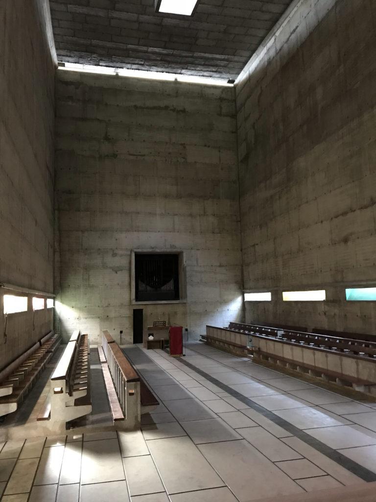 Klooster Sainte-Marie de La Tourette bij Lyon door Le Corbusier. Beeld Misak Terzibasiyan