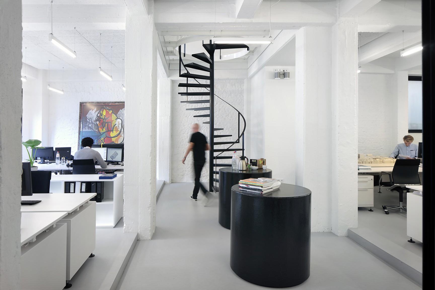 <p>Kantoren META architectuurbureau, Antwerpen. Fotograaf: Filip Dujardin</p>
