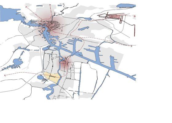 Toekomstbeeld Zaanse Kogerveldwijk in 2040