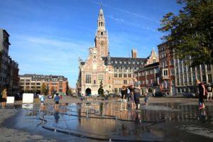 Stadsomwalling Leuven wordt zichtbaar door Flux i.s.m. Rots Maatwerk, Hallerbrun en Annika Devroe