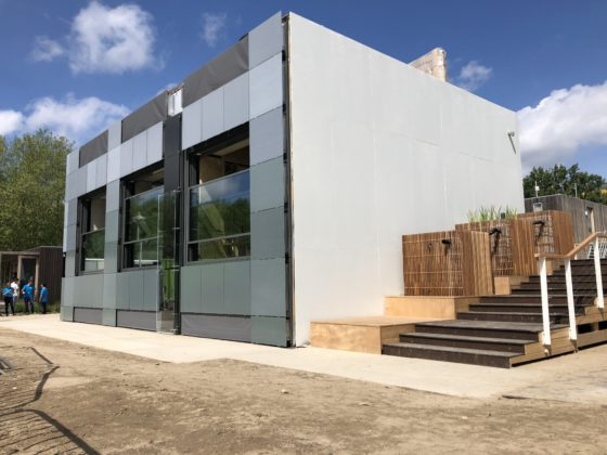 Prototype modulair en energie producerend appartement gepresenteerd