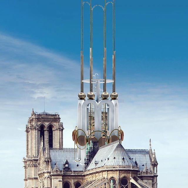 Notre-Dame Kiss the Architect